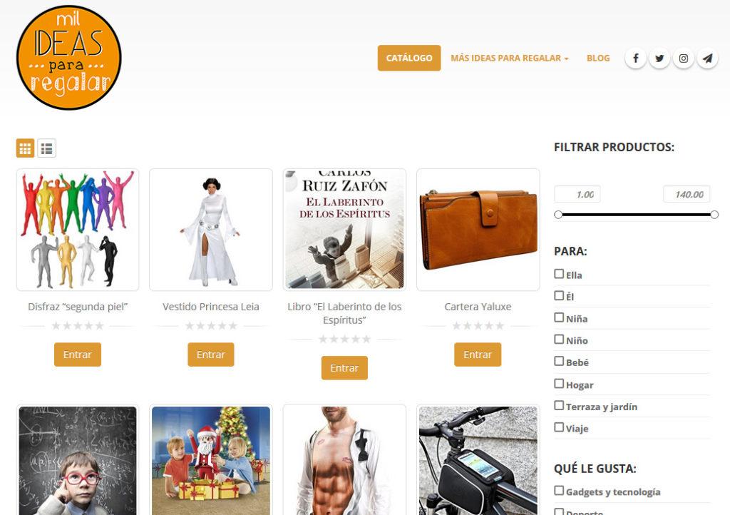 Visita la web de Mil ideas para regalar y descubre novedosos y originales objetos para regalar.