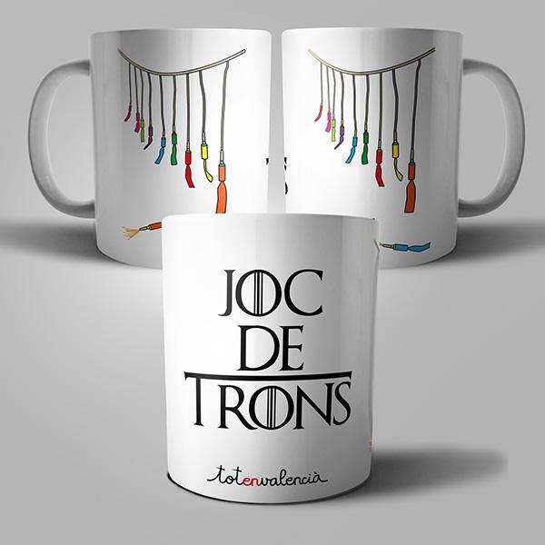 Tassa Joc de trons - Mascletà - Tot en valencià